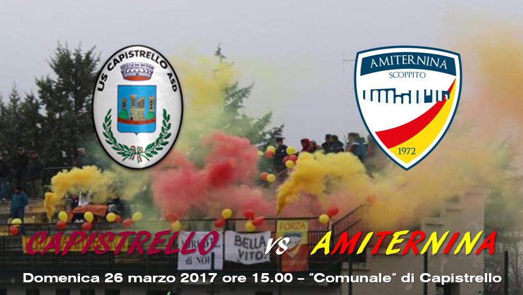Eccellenza: Capistrello - Amiternina Scoppito 1-1