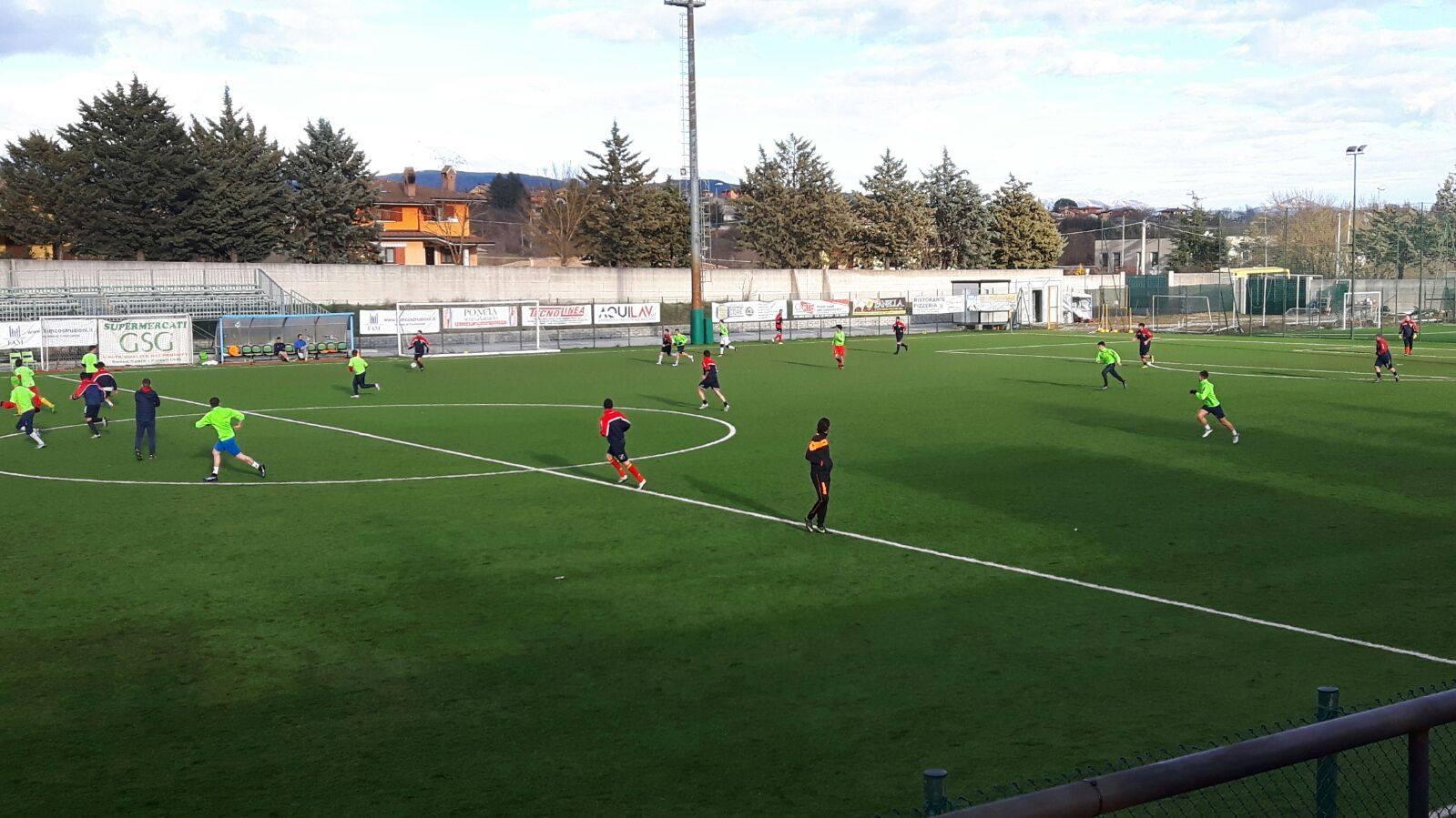 Juniores: Torrese - Amiternina Scoppito 3-0